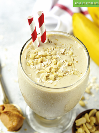 Delight banane cacahuete