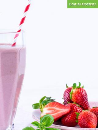 Milkshake fraise basilic 320x427
