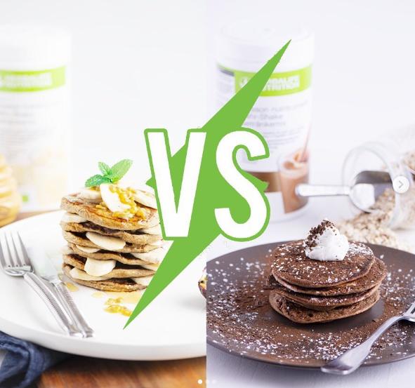 Vanille vs chocolat
